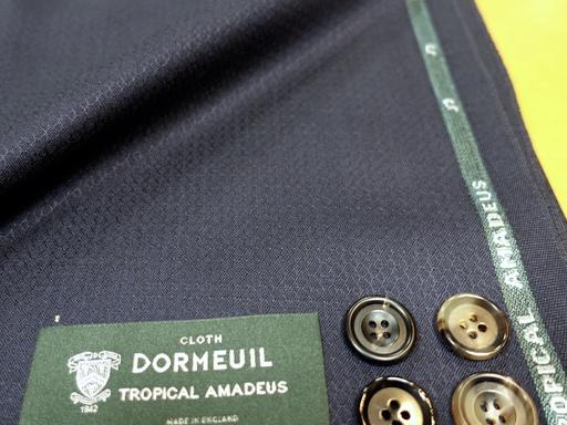 夏スーツ素材ドーメルトロピカルアマデウス(2020/5/9)