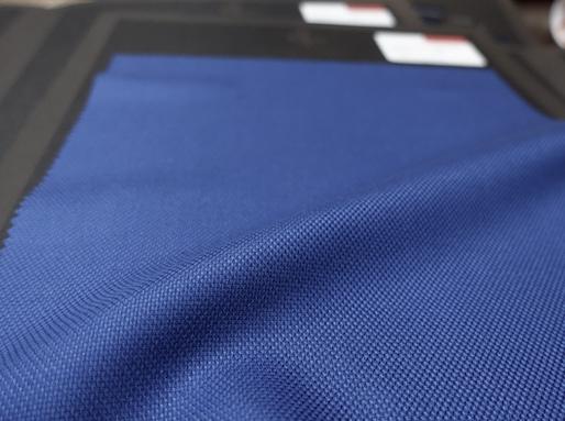 PIACENZA社スパンカシミア100%ホップサックの美しい青(2020/6/22)
