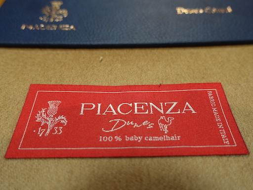 PIACENZA社「BABYCAMEL」買い付けました。(2020/6/21)