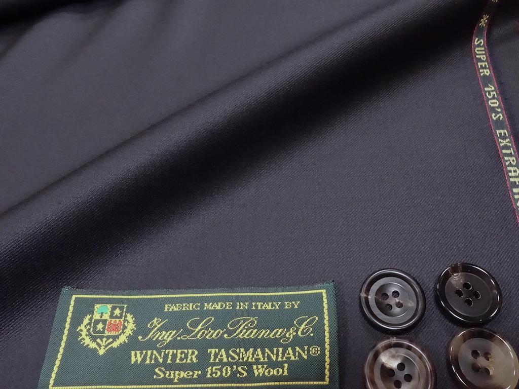 スーツ素材の最高峰をspecial priceで。ウインタータスマニアン150(2020/8/23)