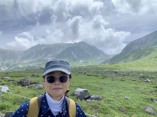 立山が迎えてくれた。(2020/8/6)