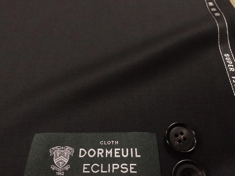 ウールシルクの黒。ドーメルエクリプス(2021/3/2)