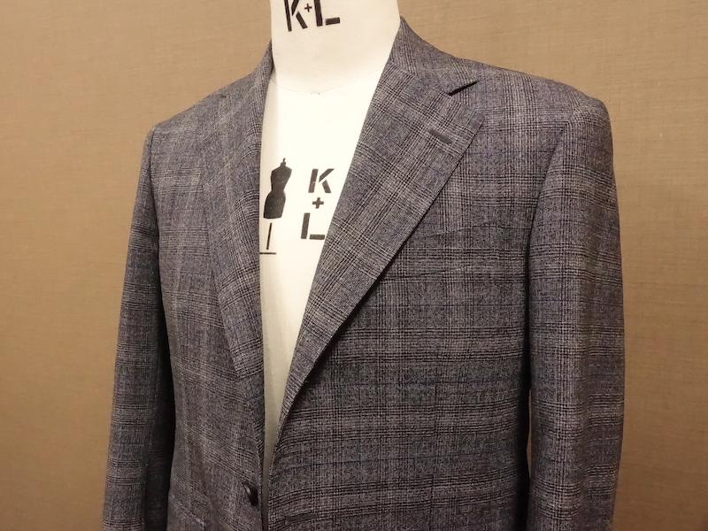 夏のスーツ。ドーメルトニックウール(2021/4/2)