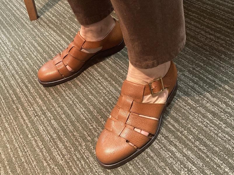ひさしぶり革靴を買う(2021/3/30)