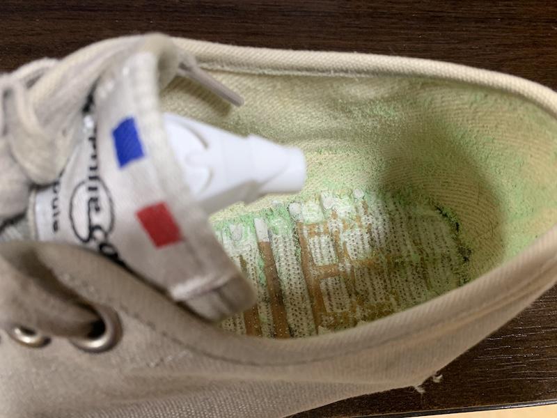 静かな一日は靴のおていれ(2021/5/11)