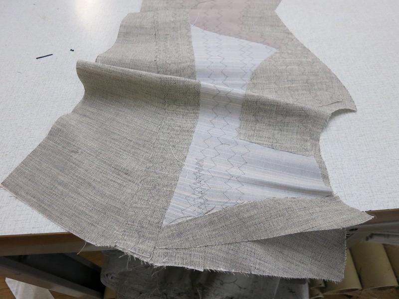 毛芯で洋服を縫うということ。(2021/5/25)