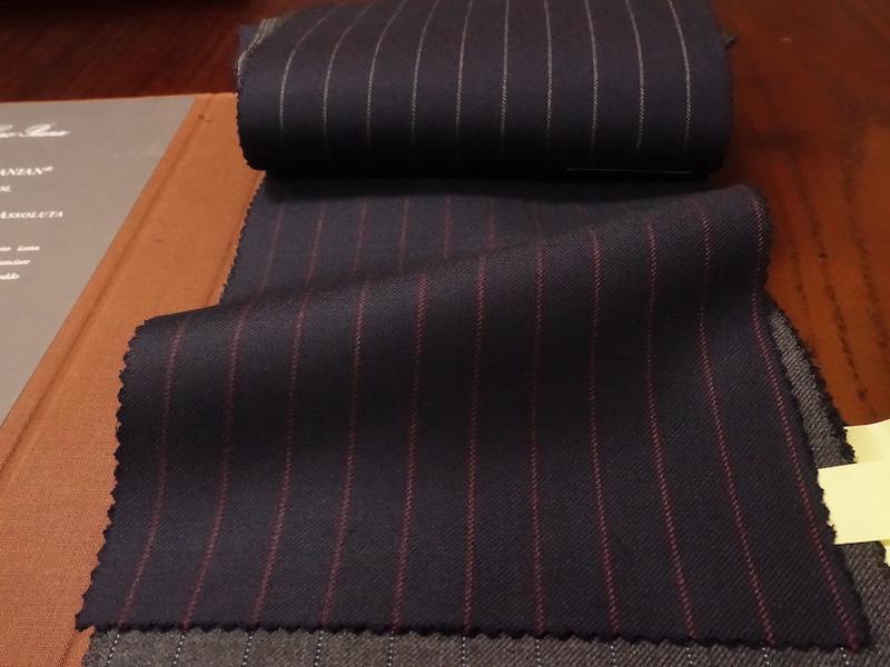 ロロピアーナ社スーツ素材買付(2021/7/12)
