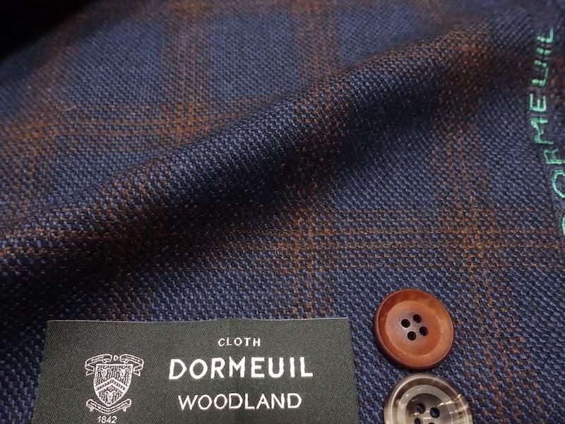 ドーメルジャケット素材 WOOD LAND(2021/8/22)