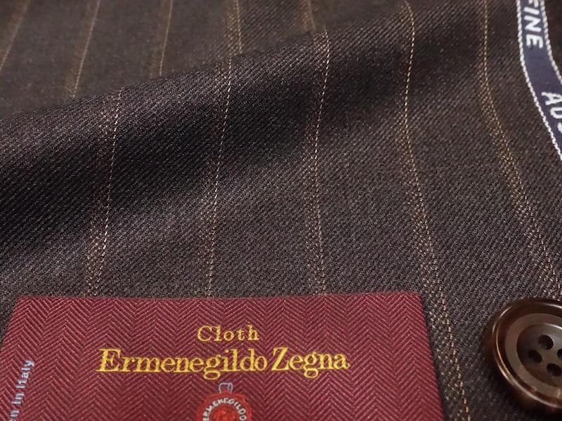 エルメネジルド・ゼニアスーツ素材「ループ」をスペシャルプライスで。